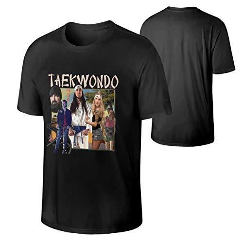 Mens Walk Off The Earth Fashion T-Shirts Music Band T-Shirt Black XXL