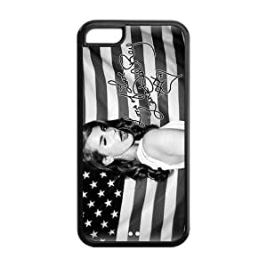 Customiz American Famous Singer Lana Del Rey Back Case for iphone 5C JN5C-1640