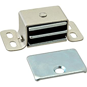 STANDARD KEIL Magnetic Cabinet Catch 20 lb Pull Zinc-Plated Steel housing 2930-1012-3000