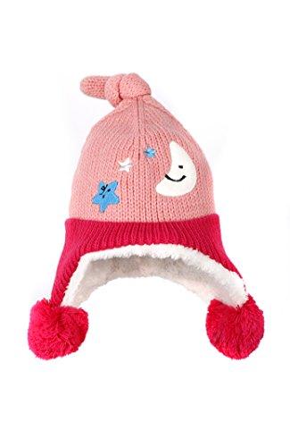 Earflap Hat Knitting Pattern (Jon Senkwok knitting patterns for hats Earflap Hood Beanie Hat Pink &)