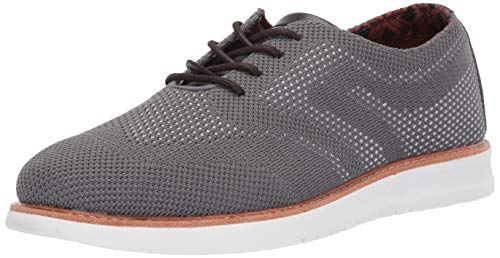 Ben Sherman Men's Nu Casual Chukka Oxford, Grey/Multi, 11.5 M US