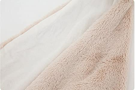 Thick-Brown Rabbits GudeHome Baby Boys Blanket Swaddling Infant Sleeping Bag Bathrobe Towel With Cute Animal Head 76x76cm