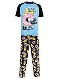 The Simpsons Mens' Homer Simpson Pajamas