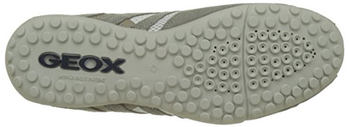 ice Sneaker Herren Geox whitec0463 Grau K Snake Uomo vY8PxP4q