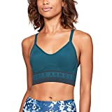 Under Armour Women's Seamless Longline Bra, Static Blue (414)/Static Blue, Small For Sale