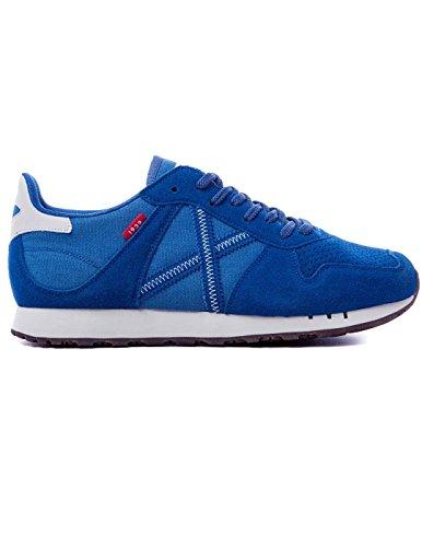 München Unisex-adult Massana Sneaker, Diverse Kleuren (244 244) Eu Blauw
