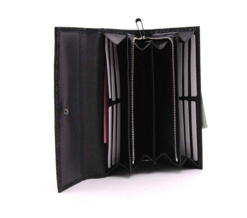 BREE, combinato borsa, Montpellier 1 black effect (glitzernd Schwarz)