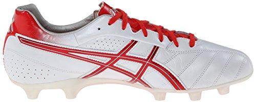 Zapato de f¨²tbol Ds Light 6 para hombre, Pearl White / Red, 4.5 M US