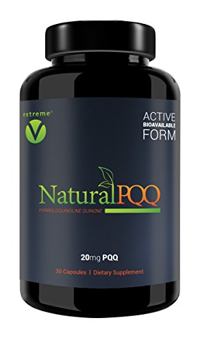 NaturalPQQ - #1 Recommended Cellular ENERGY - 20mg PQQ (P...