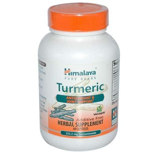 Himalaya Herbal Healthcare Turmeric 60 Vcaps by silp-art