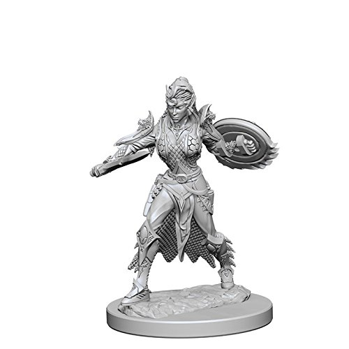 Pathfinder: Deep Cuts Miniatures - Elf Female Fighter WizKids WZK72599
