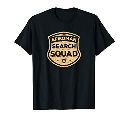 Price comparison product image Afikoman Search Squad Funny Passover Seder Gifts T-Shirt
