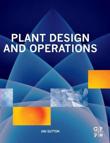Plant Design and Operations - Lfl Shop
