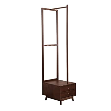 QI_W Percheros Perchero, Nordic Simple Floor Bed Cabinet ...