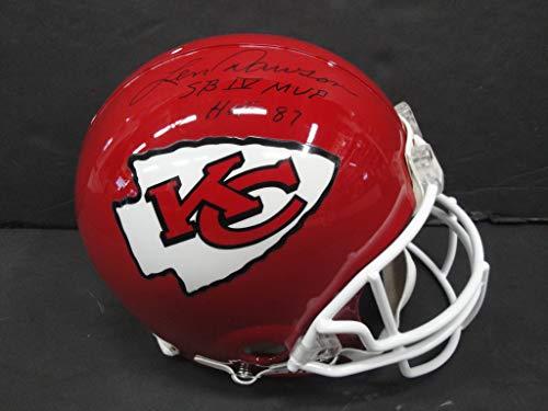 Len Dawson Hand Signed Autograph Full Size KC Football Helmet HOF 87 -