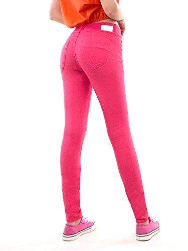 Femme Taille Rose Unique Tiffosi Pantalon wSqv1xZ
