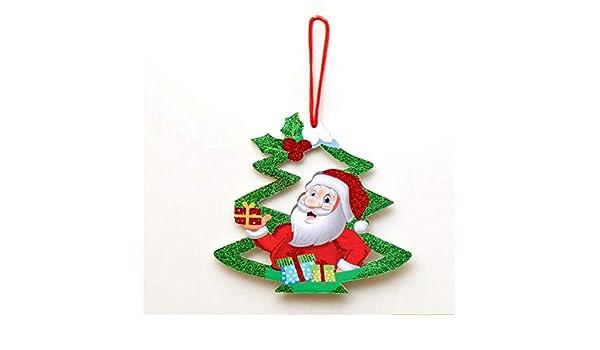 hysxm 3 Unids Espuma De Navidad Decoración De Navidad Muñeco De ...