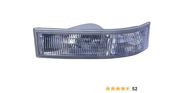 Park Signal Light fits 95-05 Chevy Astro GMC Safari Passenger Side Marker Lens