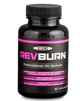 Rev Labs   Rev Burn   Thermogenic Fat Burner   Groundbreaking Fat Burning Amplifier ( 60 Capsules )