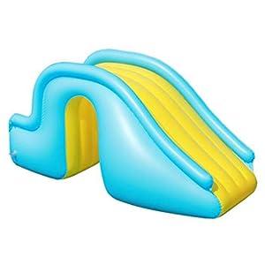 N/T Tobogán hinchable de agua para piscina, piscina, flotador, escalera, escalada, piscina, para niños