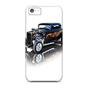 New No.5 Case Super Strong Hot Rod Tpu Case Cover For Iphone 5c by mcsharks