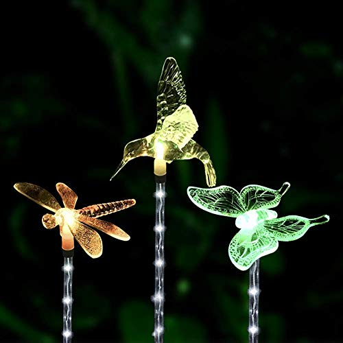 Hummingbird Solar Lights For Garden in US - 6