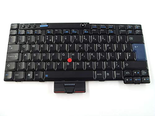 Replacemet Parts for Lenovo ThinkPad X200 X201 X201S Tablet 12″ UK English GB Keyboard 42T3741