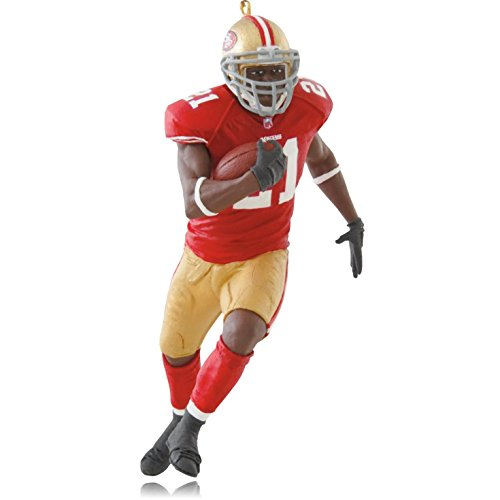 1 X Frank Gore San Francisco 49ers - 2014 Hallmark Keepsake Ornament (San Francisco 49ers Miniature)