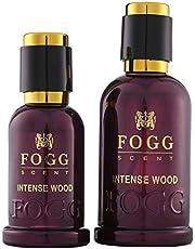 Fogg Intense Wood for Men, Eau de Parfum - 100 ml with Eau de Parfum, 50 ml