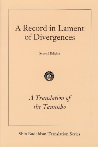 A Record in Lament of Divergences (A Translation of the Tannisho)