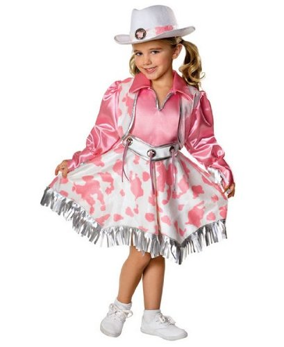 Rubies Let's Pretend Collection Western Diva Costume, -