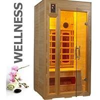 eyepower - 12656 calidad 1-2 personas de sauna