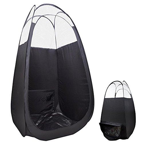(AW Pop Up Black Airbrush Sunless Spray 45x45x83
