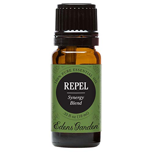 Edens Garden Repel Essential Oil Synergy Blend, 100% Pure Therapeutic Grade (Highest Quality Aromatherapy Oils- Detox & Stress), 10 ml