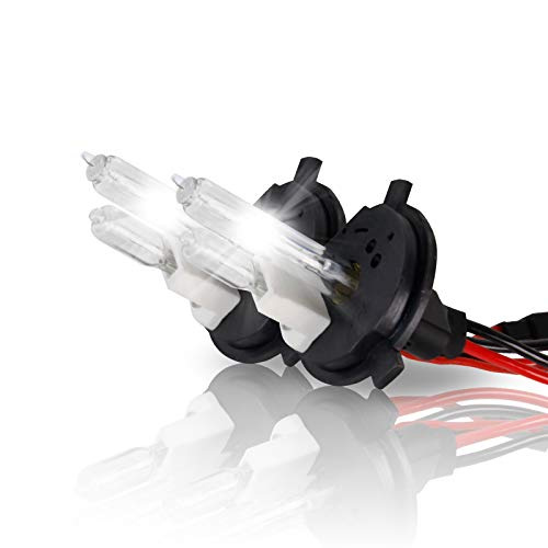 - P.RA 35W 55W HID Xenon Replacement Bulbs - 1 Pair - H4 9003 HB2 - Amethyst Purple