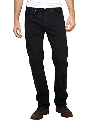 - Levi's Mens 501 Regular Straight-Leg Denim Jeans Black Size 42 Length 34