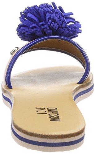 Love Moschino Women's Sabotd.2154418/20 Bo.Pu Rs/Vr.Pu Bt Mules Multicolour (Pink-bluette 60a) SQKLaMGEd