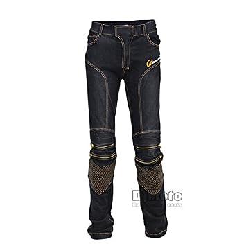 Los hombres nuevo estilo de la motocicleta Racing pantalones ...
