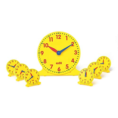 S&S Worldwide Student Clocks (Set of 6)