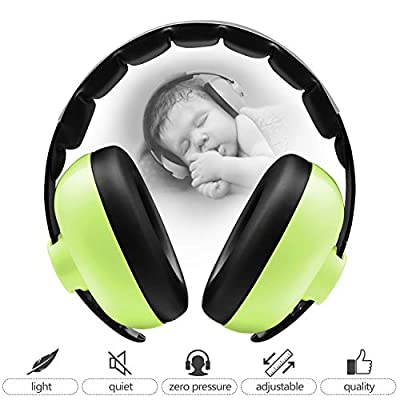 BBTKCARE Baby Ear Protection Noise Cancelling Headphones for Babies for 3 Months to 2 Years
