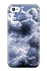 Lennie P. Dallas's Shop New Style New Design Shatterproof Case For Iphone 4/4s (cloud)