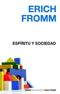 Espíritu y sociedad par Fromm