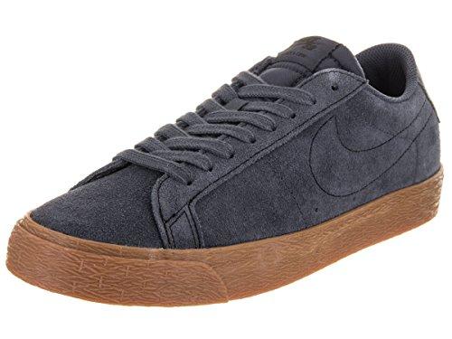Nike Sb Blazer Low Mens Scarpe Da Skateboard Tuono Blu / Gomma