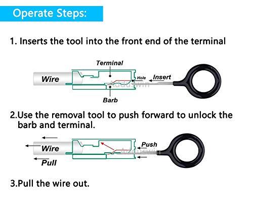 21pcs T0025e Electrical System Tools Auto Terminals