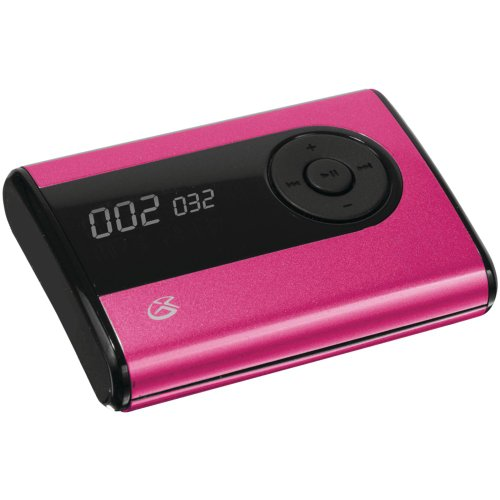 GPX MW240P 2 GB Flash MP3 Player - Pink - LCD - MP3, WMA - 8