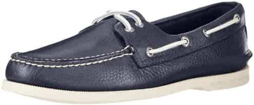 Sperry Top-Sider Men's A/O 2 Eye Boat Shoe,Navy,8 M US