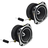 Audio Legion ALT46 Car Audio 3 Compression 300W Bullet Super Tweeter Pair New