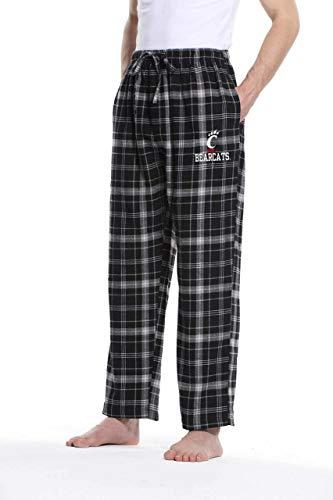 Cincinnati Bearcats Adult NCAA Team Pride Flannel Lounge Pants - Team Color, X-Large