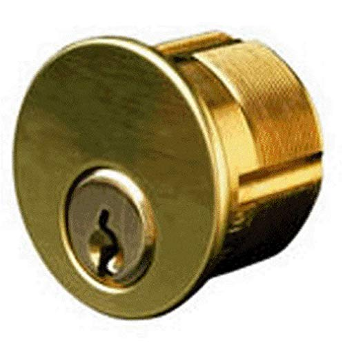 Kaba Ilco 7165fa2-26d-ka2 Mortise Cylinder Segal, Satin Chrome, 1