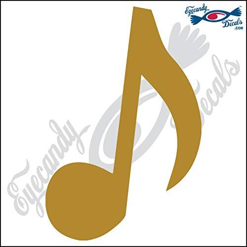 Eyecandy Decals Eighth Note Music Note 6